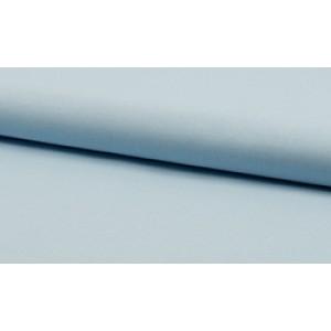 Katoen baby blauw per meter - Katoenen blauwe stoffen