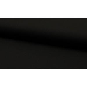 Katoen zwart per meter - Katoenen zwarte stoffen
