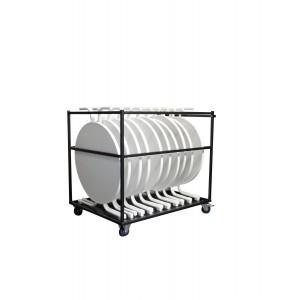 Transportkar Large - 125x95x114cm - Voor Statafels