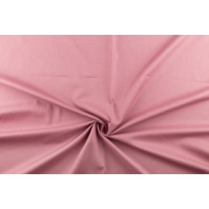 Katoen oudroze - Katoenen stof op 10m rol