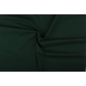 Katoen donkergroen - Katoenen stof op 10m rol