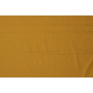 Katoen okergeel - Katoenen stof op 10m rol