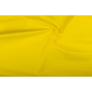 Katoen geel - Katoenen stof op 10m rol