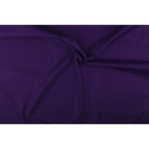 Katoen paars - Katoenen stof op 10m rol