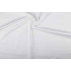 Katoen wit - Katoenen stof op 10m rol