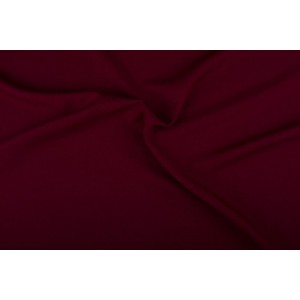 Texture stof bordeaux rood - 50m rol - Polyester