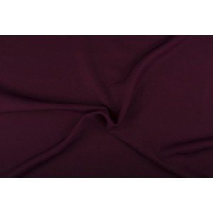 Texture stof donker bordeaux rood - 50m rol - Polyester