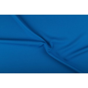 Texture stof waterblauw - 50m rol - Polyester
