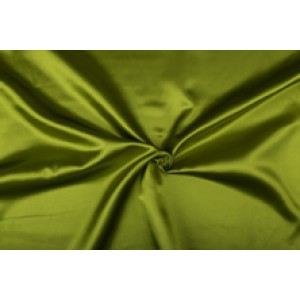 Satijn 15m rol - Lichtgroen - 100% polyester
