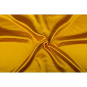 Satijn 50m rol - Geel - 100% polyester
