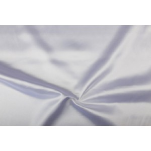 Satijn 50m rol - Wit - 100% polyester