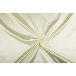 Satijn 15m rol - Gebroken wit - 100% polyester