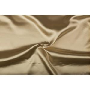 Satijn 50m rol - Zandbruin - 100% polyester