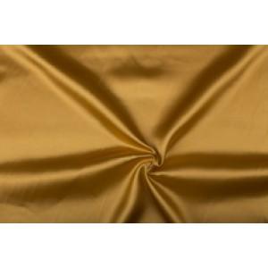 Satijn 15m rol - Camelbruin - 100% polyester