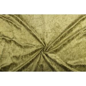 Velour de pannes licht khaki - 10m stof op rol