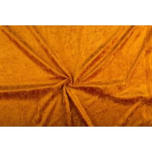 Velour de pannes zalm - 10m stof op rol