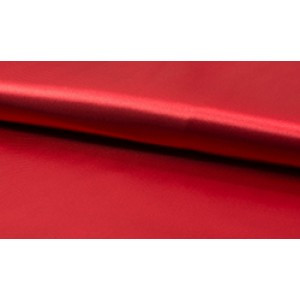 Satijn Rood - Glanzende rode stof