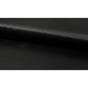 Satijn Zwart - Glanzende zwarte stof