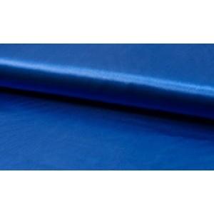 Satijn Midnachtsblauw - Glanzende blauwe stof