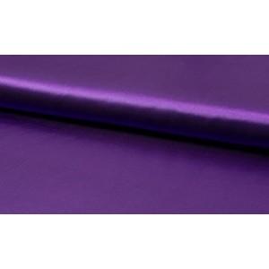 Satijn Paars - Glanzende paarse stof