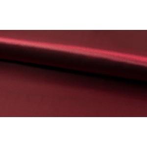 Satijn Bordeaux Rood - Glanzende rode stof