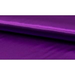 Satijn Helder Paars - Glanzende paarse stof