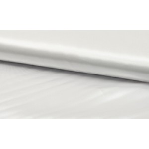 Satijn Deluxe Wit - Glanzende witte stof