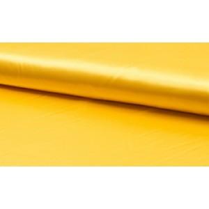 Satijn Deluxe Geel - Glanzende gele stof