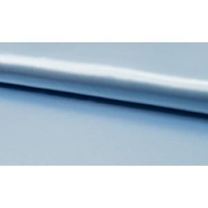 Satijn Deluxe Baby blauw - Glanzende blauwe stof