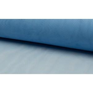 Tule stof Blauw - 100% nylon stoffen