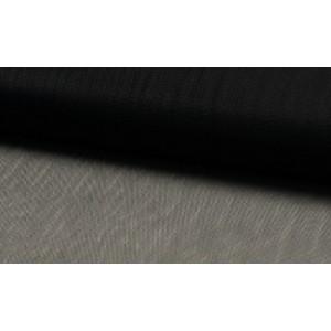 Tule stof Zwart - 40m per rol - Nylon