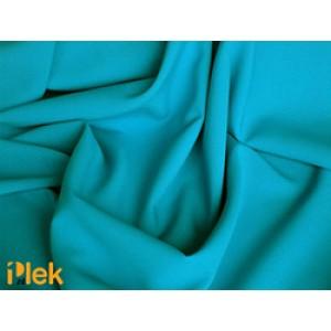 Texture stof Oceaanblauw 40m per rol - Polyester