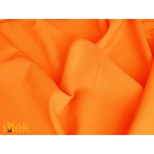 Texture stof Oranje 40m per rol - Polyester