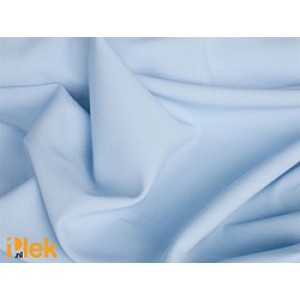 Texture stof Baby Blauw 40m per rol - Polyester