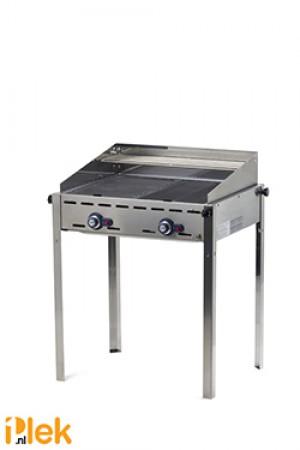 Gasbarbecue 2 br. Green Fire Profi Line