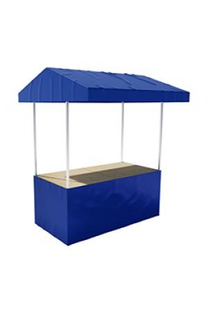 Professionele marktkraam - Blauw