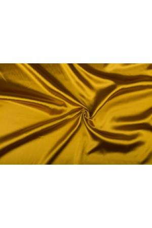 Satijn 15m rol - Goud - 100% polyester